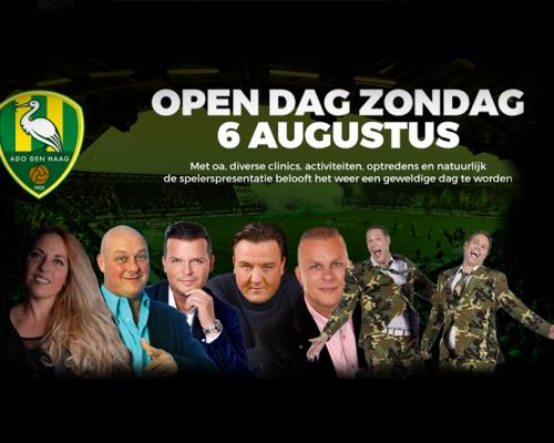Haagse artiesten open dag ADO Den Haag