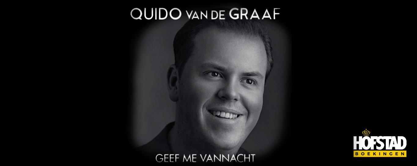 Nieuwe Single | Quido v/d Graaf – Geef me vannacht