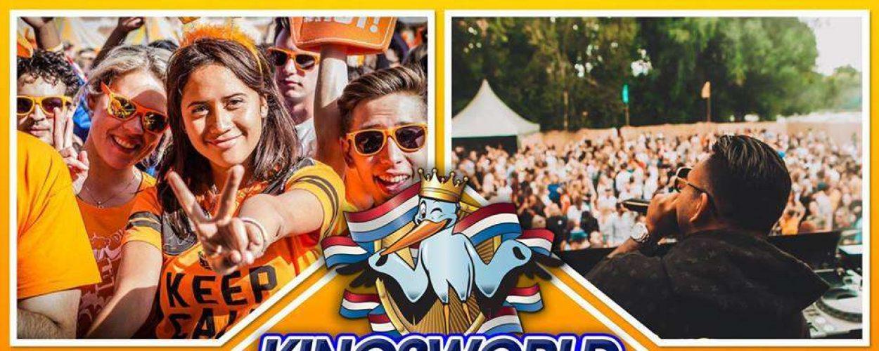 """LINE-UP """"Huis van Oranje"""" bij Kingsworld Den Haag verzorgt door Hofstad Boekingen."""