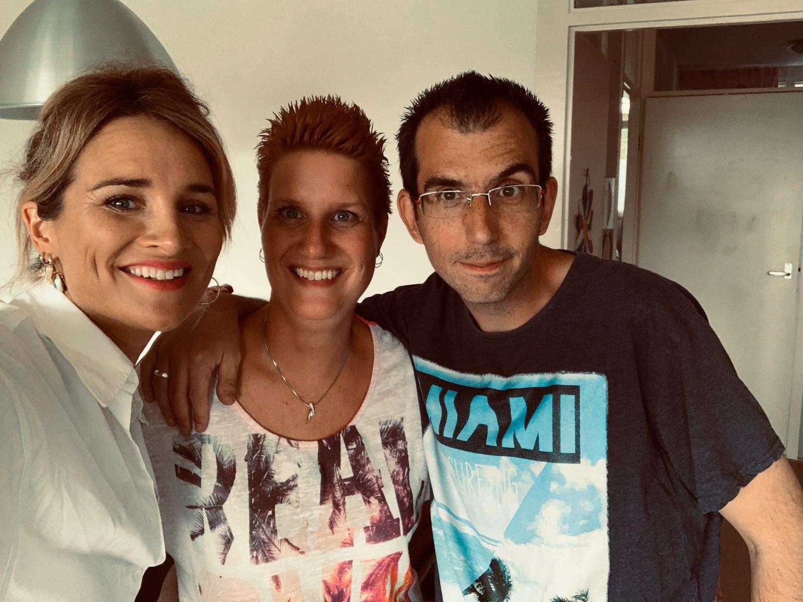 DJ Edskie, tv debuut in Ons huis vol spullen